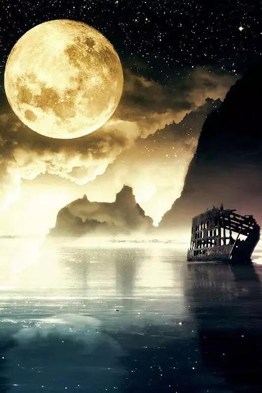 最美的月亮送给最美的你