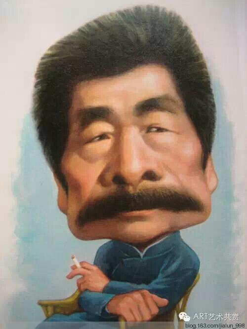 人 物 漫 画 集 锦                        《习作二十二》