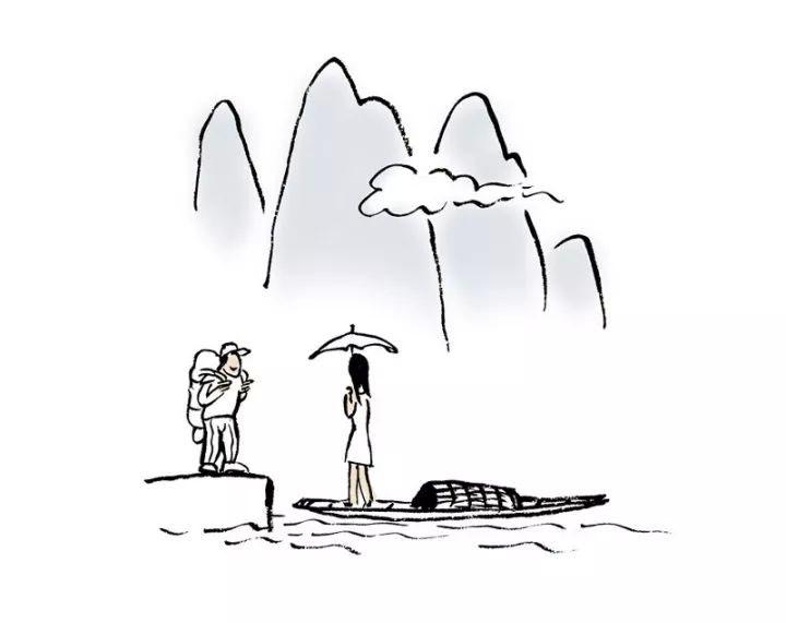 见山是山  见水是水 见你  是全世界
