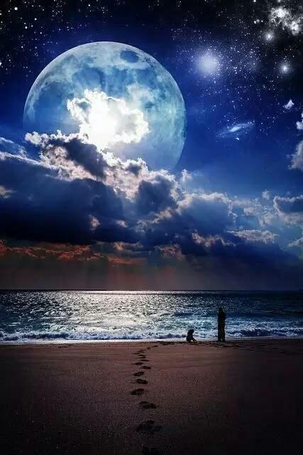 世界上最美的月亮美到窒息