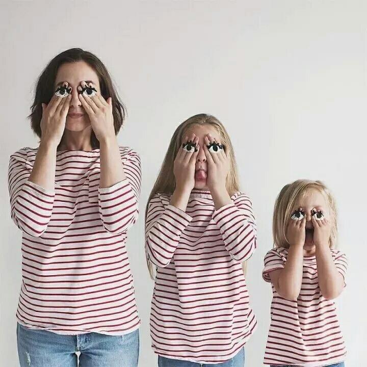 """母女三人一组照片爆红lns, 网友: """"又要骗我们生女儿"""""""