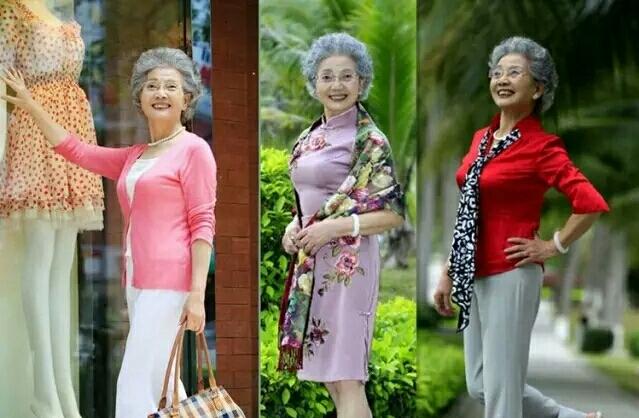 女人的美无关年龄,86岁照样可成为时尚达人