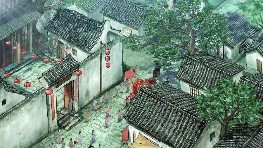 当古诗文遇上中国动漫 竟是这样缠绵悱恻 (高清动漫1~4)