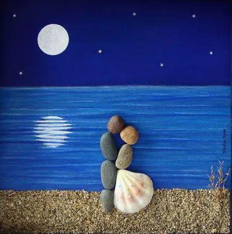 石头被玩成这样 我又相信爱情了