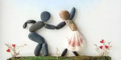 石头被玩成这样,我又相信爱情了