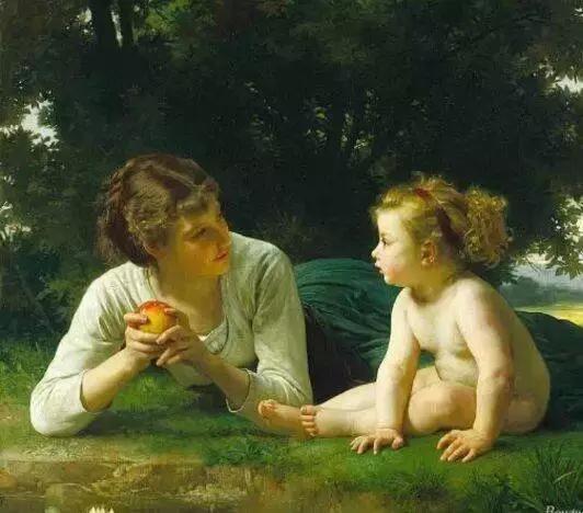 世界名画中的《母爱》 祝天下母亲节日快乐!