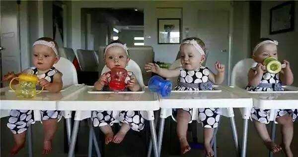 看看四五六胞胎,人家是咋过日子的?(太可爱了!)