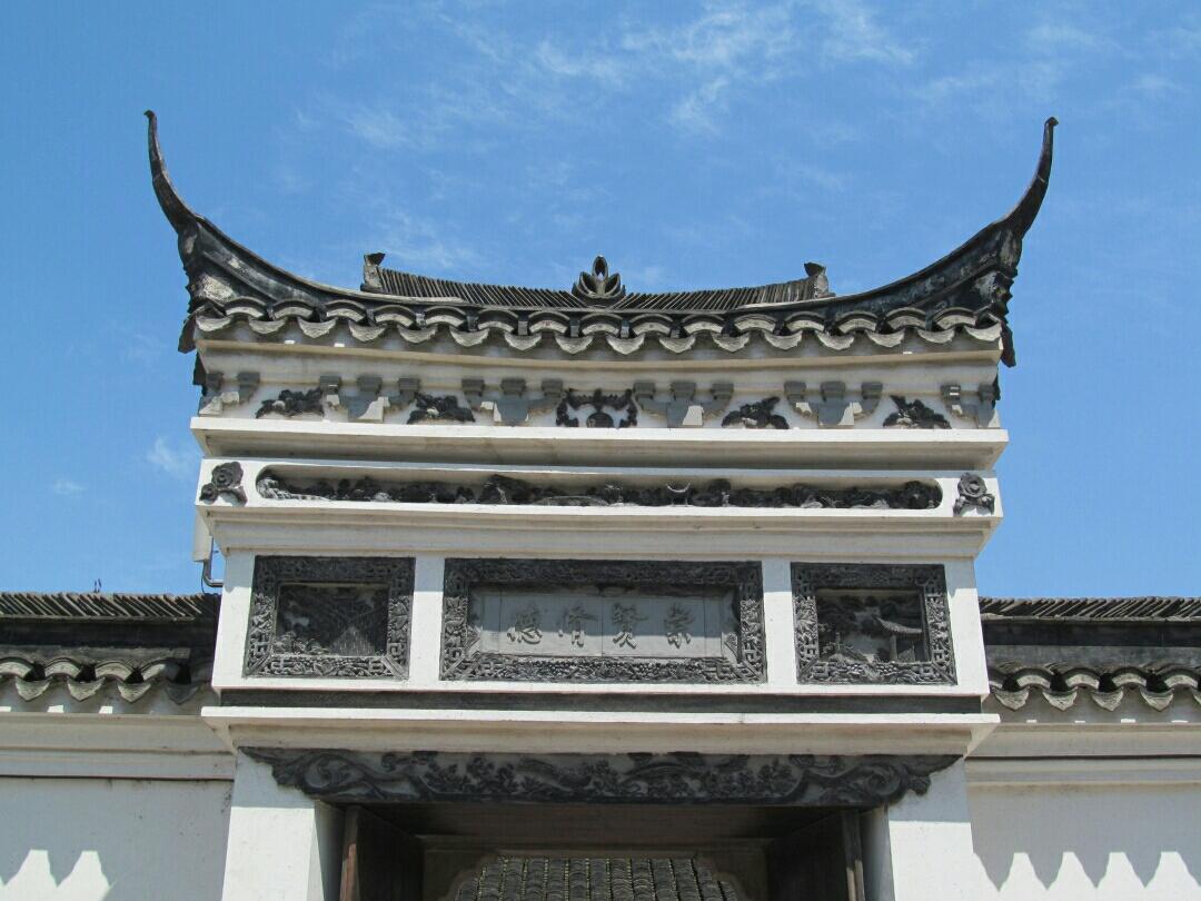 追寻历史的痕迹 : 中国历史文化名镇---新   场              《习作十二》