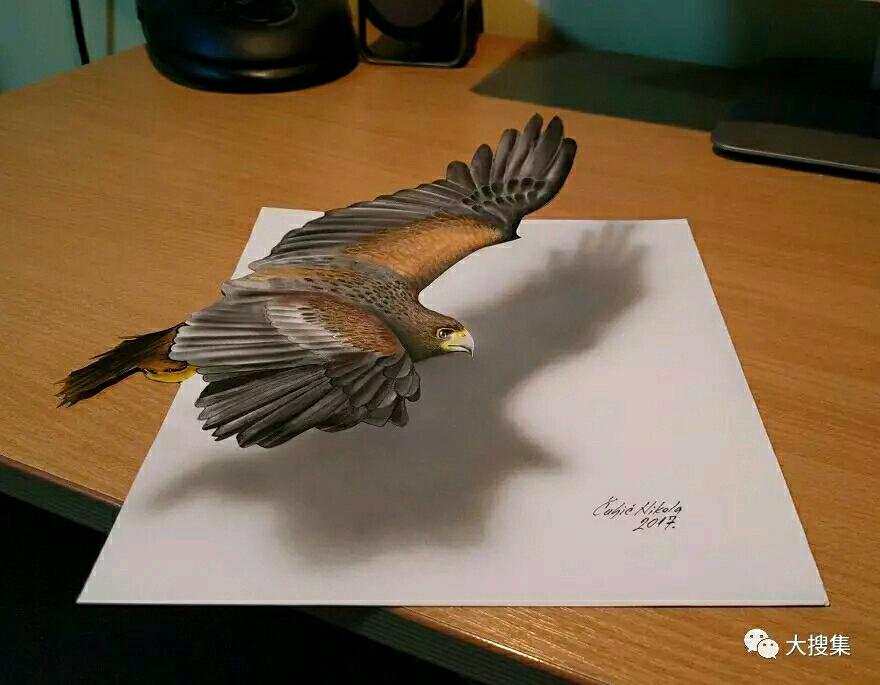 插画师3D画,栩栩如生,完美精湛!