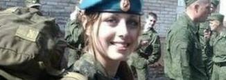24岁俄罗斯美女空降兵,脱下军装后,网友直呼太美了