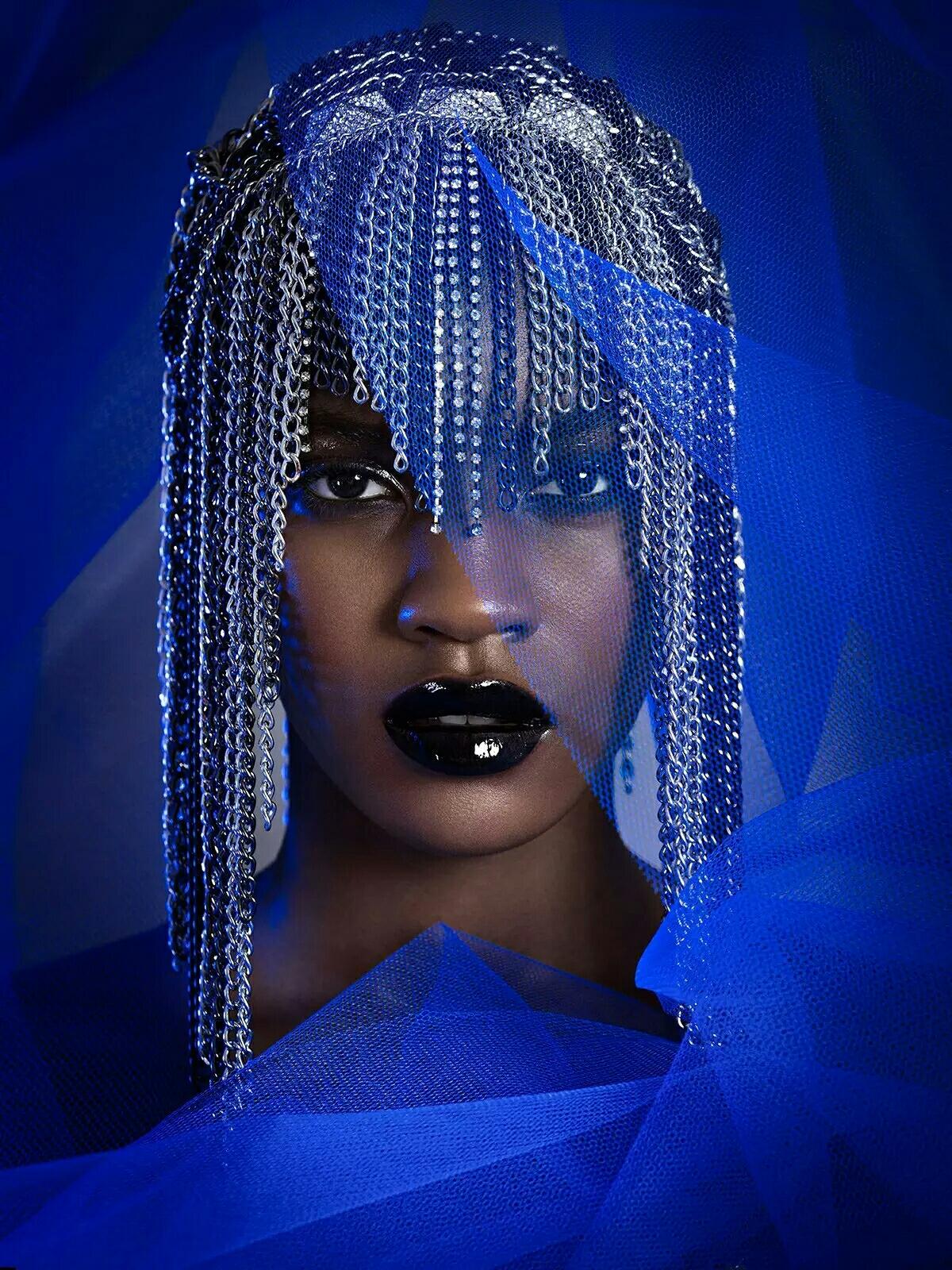 别样性感黑人超模!