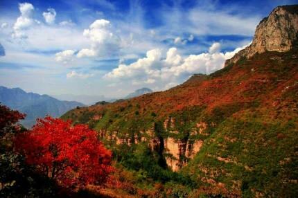 美丽的太行山风景