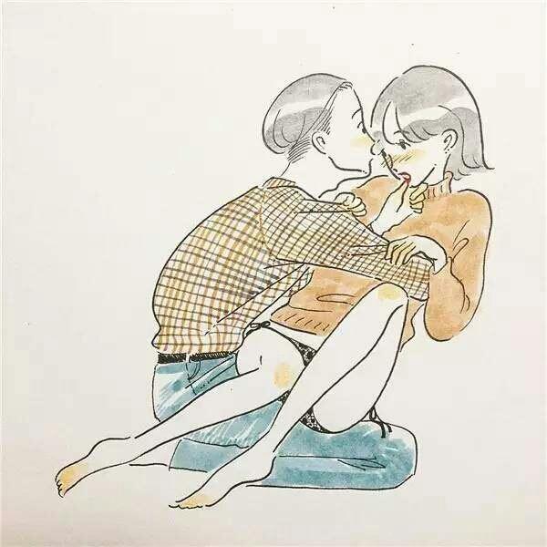 色色鲁网站_一组色色的插画看完有股谈恋爱的冲动