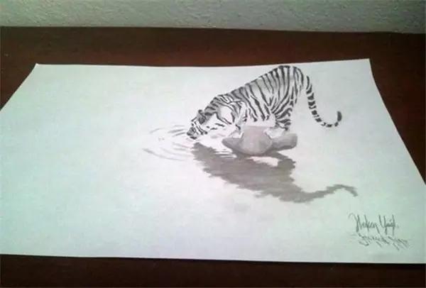 3d素描动物图