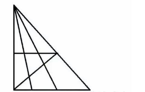 【考你智商】〖第四期〗,看出19个三角形是人才,23个是天才~