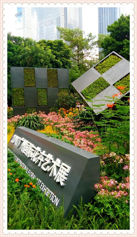 自然生命形式一岭南盆景 2017广州国际花卉艺术展 广州大剧院展馆
