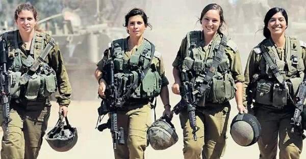 世界上有两种女兵:一种是女兵,一种是以色列女兵