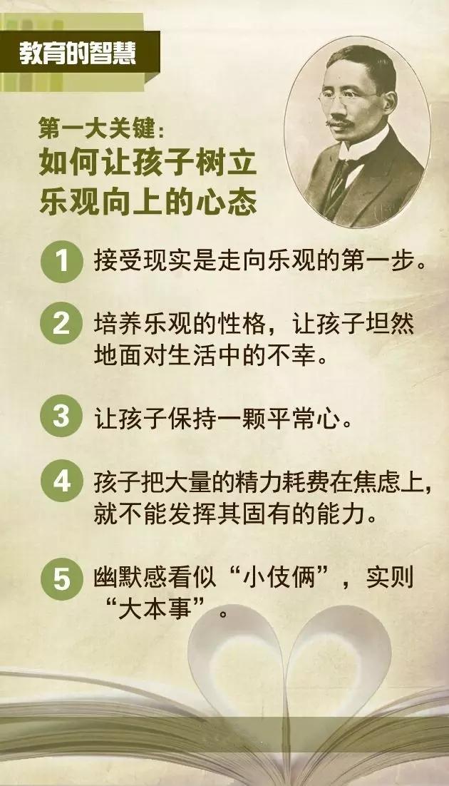 蔡元培: 决定孩子一生的不是成绩, 而是健全的人格。