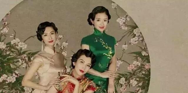 偶像来了,林青霞带领众位女神,穿旗袍美炸