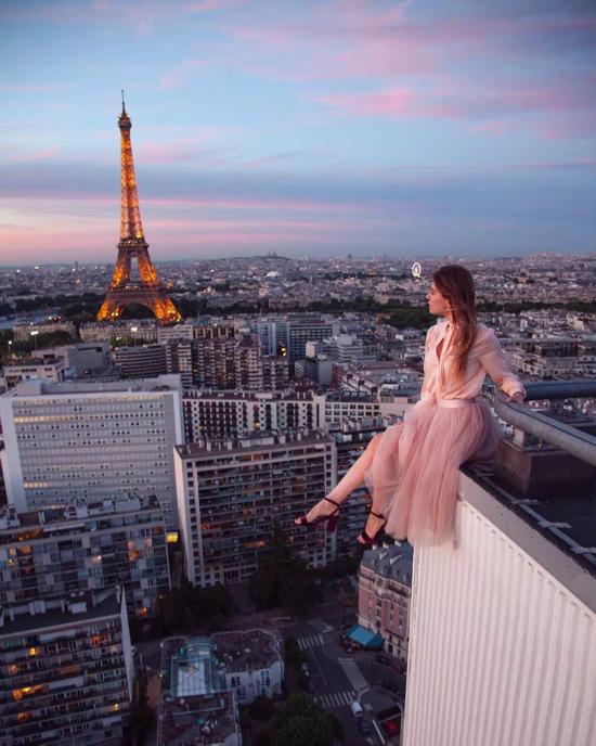 """全球最""""危险""""的模特 是用生命在拍摄"""