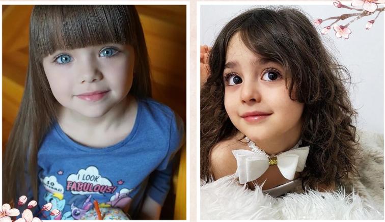 """被很多媒体封为""""世界上最美丽的女孩""""  两个最漂亮的女孩,哪个更美?"""