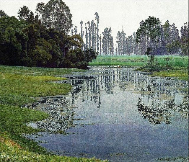 淡淡乡愁丨自然风情 美丽乡村油画欣赏