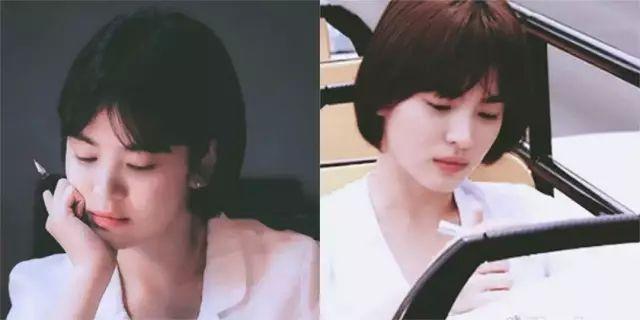 37岁宋慧乔 婚 后 复 出 一个女人过得好不好 看看她的脸