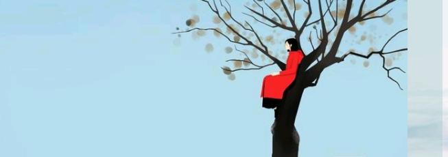 叶的离开,是风爱得太深, 还是树没有挽留