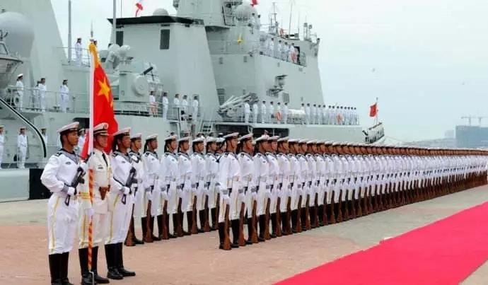 这是今日中国海军,请检阅!!!