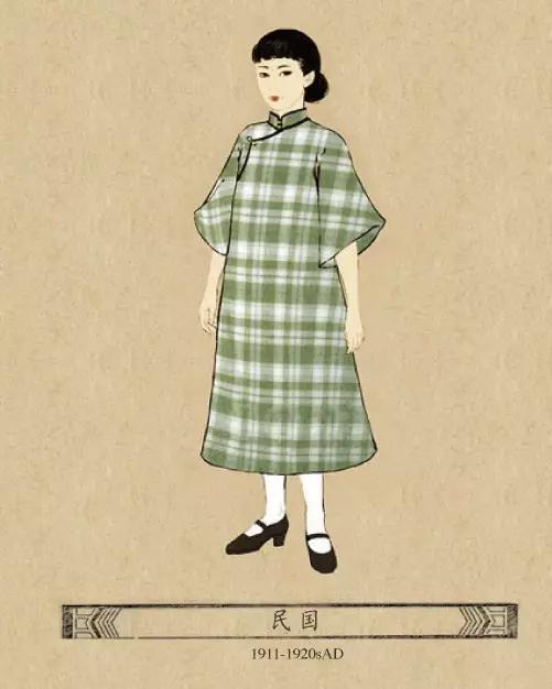 中国各个朝代女士的服饰