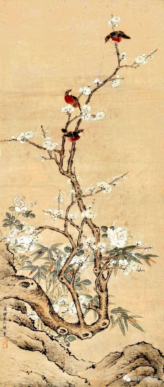 清代名家笔下最美的春色图!