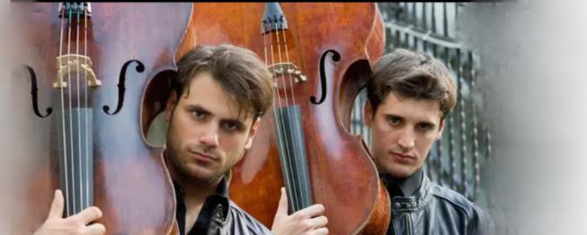 人气爆棚的提琴双杰/迷人的眼睛 迷人的声音