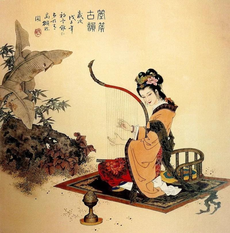 中国古代美人图