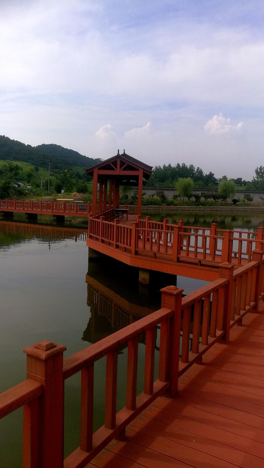 夏日江南山水秀