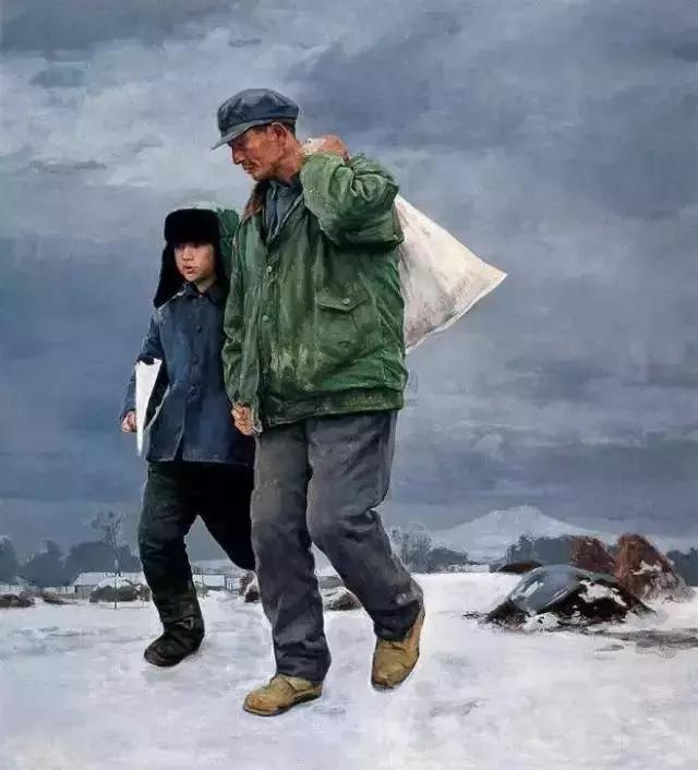 父爱 如山    画家笔下的父亲  看一次哭一次