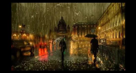 晚  安  曲|     经典小提琴             下雨 的时候