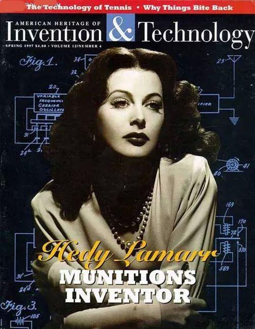好莱坞第一位 全 裸 艳 星 竟是wifi之母