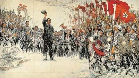 毛泽东主席十大著名诗词 雄图书法欣赏