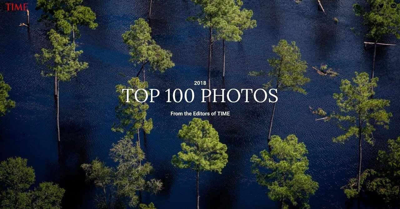 《时代周刊》评选出 100张 年度照片         2018年世界经历了 什么