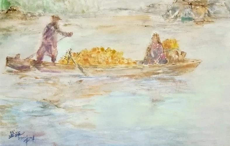叶盛祥丨唯美水彩画集 花香袭人•浮光掠影