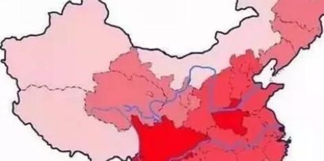 中国姓氏分布图:你家族哪里人口最多?