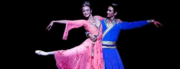 超美太极拳双人舞《梁祝》从没看过这么美的舞蹈!