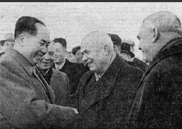 毛 主 席1957年访苏 机场讲话原声录像, 太珍贵了,最新公布!