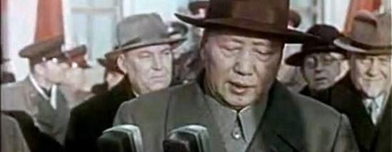 毛 主 席1957年访苏机场讲话原声录像, 太珍贵了,最新公布!