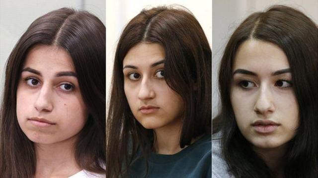 不堪家暴!俄罗斯三姐妹某杀父亲超30万人请愿释放她们