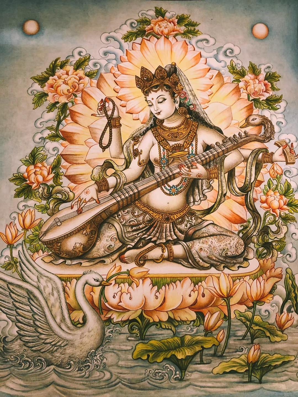 唯美尼泊尔唐卡大全 见者有福•欢喜结缘
