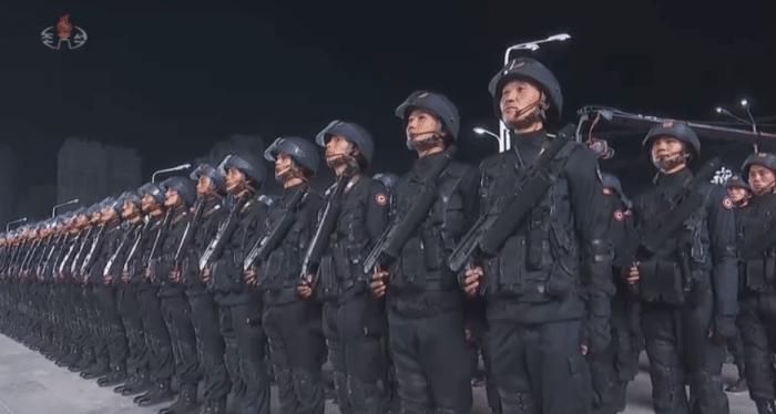 罕见! 朝鲜10月10日凌晨阅兵, 庆祝劳动党建党75周年