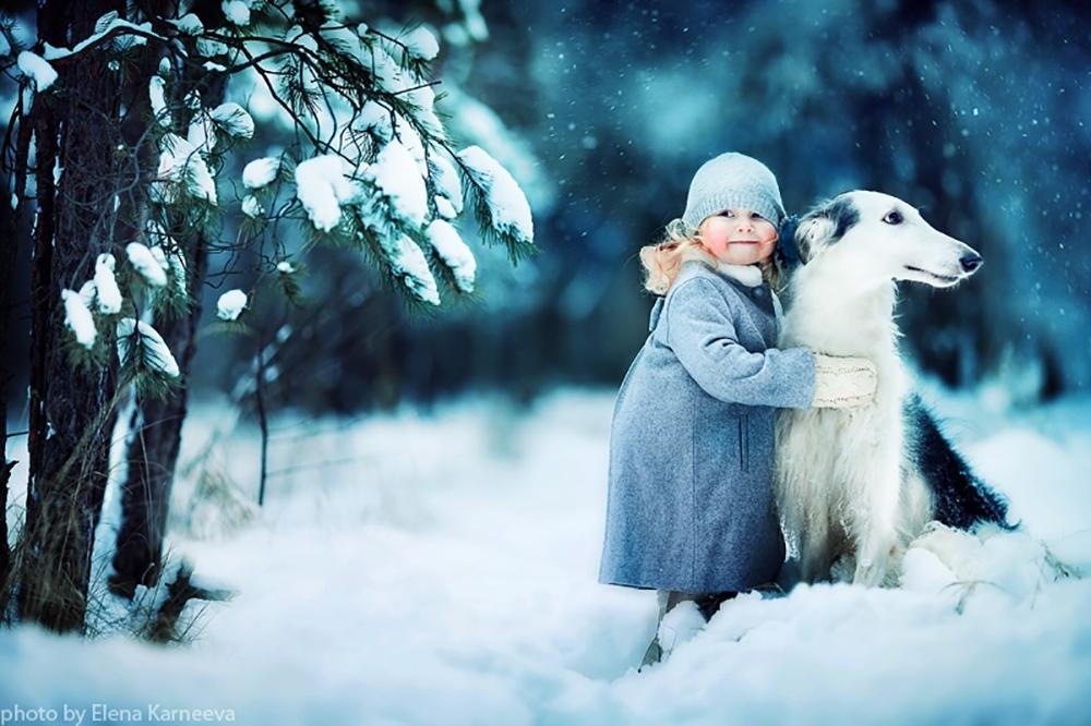 萌值爆表,动物与儿童的唯美相遇