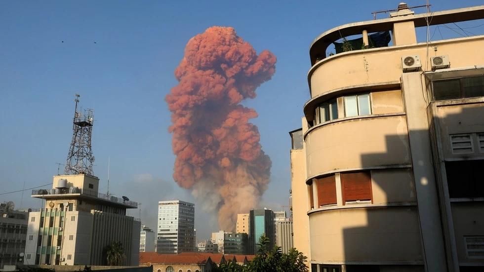 突发,黎巴嫩首都贝鲁特港口大爆炸,近百人遇难,超3000人受伤