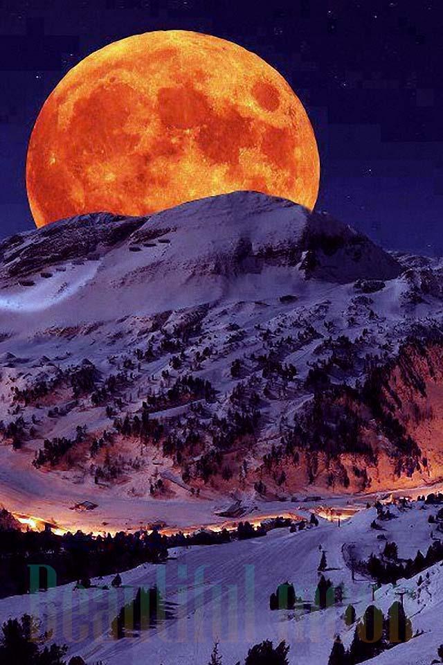 中秋看世界上最美的月亮
